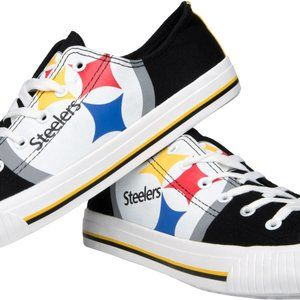 Pittsburgh Steelers NFL Men's Canvas Shoes 10